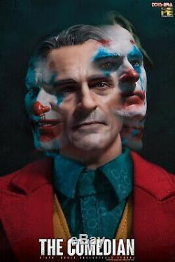 16 Jouets Era Pe004 Le Comedian Heads Joker Jacques Withthree Solider Ensemble Complet