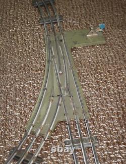 1960' Soviet Russe Jouet D'étain Moskabel 0 Scale Train Set Full Tracks Circle Mariée