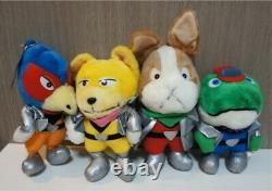 1993 Star Fox Fullset Nintendo Plush Jouet De Poupée Japan Retro Game Très Rare