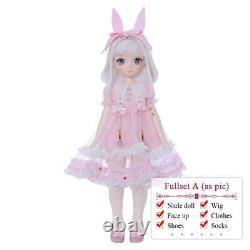 39.5 CM Mignon Ange 1/4 Bjd Poupée Jam Fullset Résine Jouets Enfants Anime Bricolage Cadeau