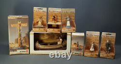 8 Schleich Toy Wild West Sioux Indian Amérindian Diorama Ensemble Complet Figurines