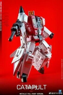 À Arrivo Zeta Toys Zb-06 Superion Superitron Metallic Deluxe Fullset Nuovo Zb06