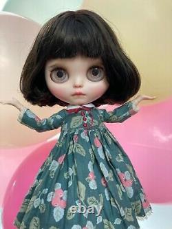 Amelie Ooak Custom Blythe Par Lelioartdolls Full Set + Jouet