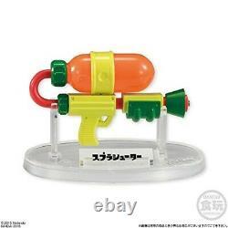 Bandai Splatoon Buki Arme Collection 8 Pcs Ensemble Complet Candy Toy Nouveau
