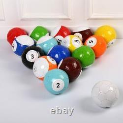 Billard Snook Soccer Ball Football Ensemble Complet Snooker Street Game Sport Toy Sz2