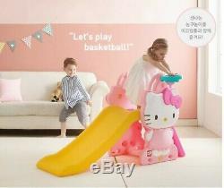 Bonjour Kitty Sweety Montée & Slide Avec Swing Ensemble Complet Pour Les Enfants Jouet Intérieur / Extérieur
