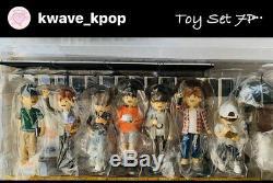 Bts Art Toy Figurine Ensemble Complet 7 Membres 7p Photos Cartes 7p Autocollants Scellé