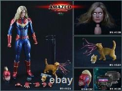 By-art By-012 1/6 Amazed Incroyable Action Femme Figure Collection Modèle Jouets