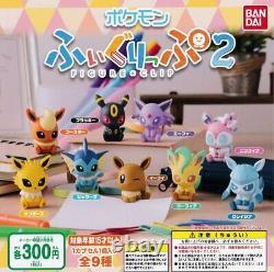Capsule Jouet Pokemon Figure Clip 2 Tous Les 9 Ensembles Comp Complet