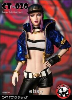 Cat Toys 1/6fashion Girl Ct020 Femelle Action Collectible Figure Ensemble Complet
