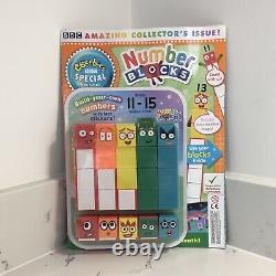 Cbeebies Numberblocks 1-20. Ensemble Complet De 140 Blocs De Numéro De Jouet Et 4 Magazines Gratuits