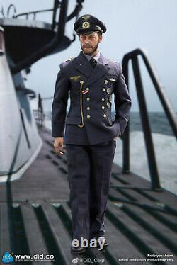 DID D80149 1/6 Wwii U-boat Sergent Principal John German Army Jeu De Figure Complet