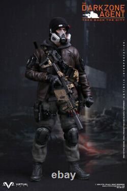 Damtoys Dam Vts Vm017 Homme Soldat Darkzone Agent Ensemble Complet Du Jouet Modèle De Figure