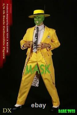 Dark Toys 16 Échelle Dtm001 Jim Carrey 12pouces Homme Action Figure Ensemble Complet
