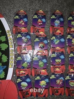 Disney Store Toy Story Alien Remix Pins & Board New & Sealed Full Complete Set