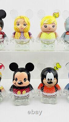 Disney Vinylmation 3'' Store 25ème Anniversaire Ensemble Complet Avec Des Jouets De Figurines Chaser