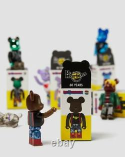 Dr. Martens Medicom Toy Bearbrick 60th Anniversary Figures Full Set Of Six