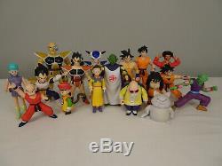 Dragonball Z Ensemble Complet De 17 Dbz Action Figures 1989 Ab Jouets Rare