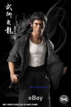 En Stock Djc Way Of The Dragon 1/4 Bruce Lee Figurine Modèle Full Set Toy Ne
