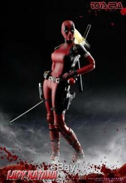 En Stock Toys Era 1/6 Lady Deadpool Wanda Wilson Figure Full Set