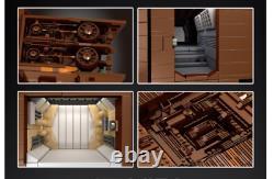Énorme Ensemble De Briques 13168pcs Sandcrawler Avec Full Interior Blocs De Construction Jouets