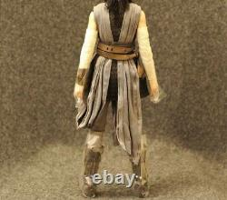 Ensemble Complet Custom Head Flocking Ray Hot Toys 1/6 Star Wars Ep8 The Last Jedi