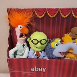 Ensemble Complet De 8 The Muppets Show Mini Peluche 8 Sababa Toys Jim Henson 2004 Nouveau