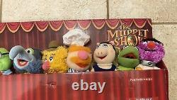 Ensemble Complet De 8 The Muppets Show Mini Peluche 8 Sababa Toys Jim Henson 2004 Nouvelle Boîte