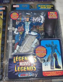 Ensemble Complet De La Série Toy Biz Marvel Legends Sentinel, Y Compris Les Variantes