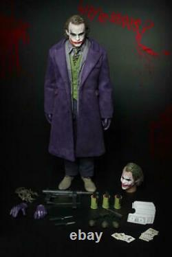 Fire A001 Batman Joker 1/6e Action Figure Full Set Head Body Colthes Model Toys