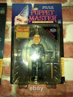 Full Moon Toys Puppet Master 90s Vintage Figure Set 6 Japon Importation Utilisé