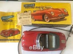 Garantie D'origine Porsche 356 Distler Electro Matic 7500 Toy Full Set