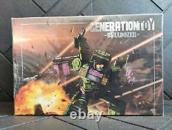 Generation Toy Gravity Builder Gt-01 Devastator Full Set Of 6 Figures États-unis