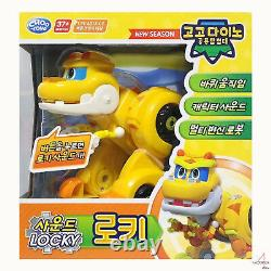 Gogo Dino Son DX (6 / Big) Dinosaur 9 Box Set Complet Robot Transformer Toy