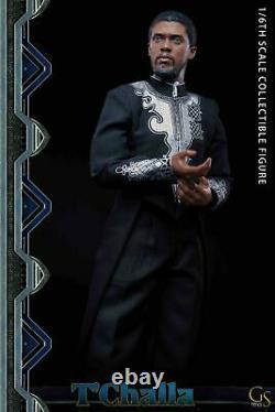 Gstoys 1/6ème Panthère Noire Le Roi De Wakanda Homme Action Figurine Jouet De Poupée