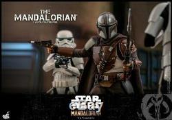 Hot Toys 1/6 Tms007 Star Wars Episode Le Mandalorien Mandalo Figure Ensemble Complet