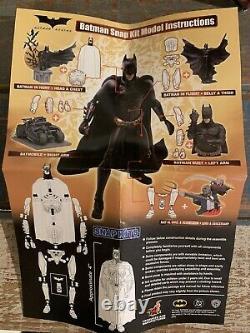 Hot Toys Batman Begins Collector Dioramas Figure + Snap Kits Modèle Ensemble Complet De 6