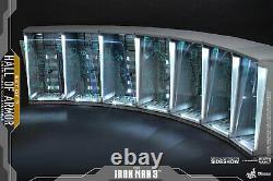 Hot Toys Dsc001 Hall Of Armor Iron Man 3 1/6 Ensemble Complet De 7 Disponibile