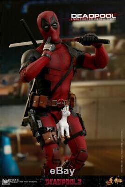 Hot Toys Échelle 1/6 Deadpool 2 Deadpool Action Figure Mms490 Ensemble Complet Cadeau