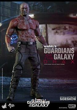 Hot Toys Gardiens De La Galaxie Ensemble Complet Star Lord, Drax, Groot, Rocket, Gamora