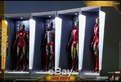 Hot Toys Iron Man 3 Miniature Figure Hall Of Armure Ensemble De 7 Neuf