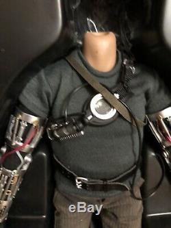 Hot Toys Iron Man Tony Stark Mms116 De Full Set No Head