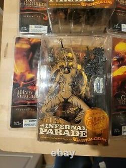 Infernal Parade, Mcfarlane Toys, Clive Barker, New Boxed Ensemble Complet De 6