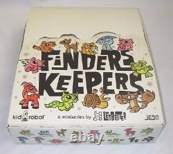Joe Ledbetter Finders Keepers Complet Ensemble Complet Kidrobot Jled Vinyle Kr Art Toys