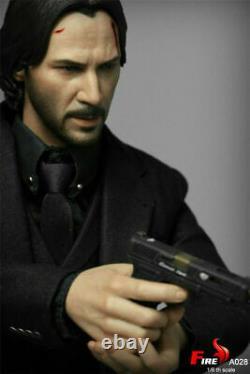 Jouets De Feu A028 1/6 John Wick Keanu Reeves 12 Homme Action Figure Ensemble Complet États-unis