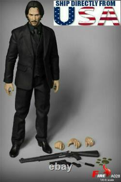Jouets De Feu A028 1/6 John Wick Keanu Reeves 12 Homme Figure Ensemble Complet U.s. A