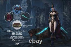 Kystudio Ky001a 1/6 Burryna Solider Figure Elf Female Warrior Full Box Set Jouet