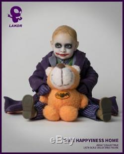 Lakor Bébé 1/6 Échelle Joker Doll 2.0 Figure Ensemble Complet Kid Toy Beaucoup D'accessoires