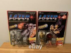 Lazer Force The Corps Lanard Toys 1994 Moc Misp Ensemble Complet De 6 Scellés
