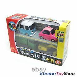 Le Petit Bus Tayo & Friends Special 18 Pcs Mini Cars Full Set Jouet Nouveau
